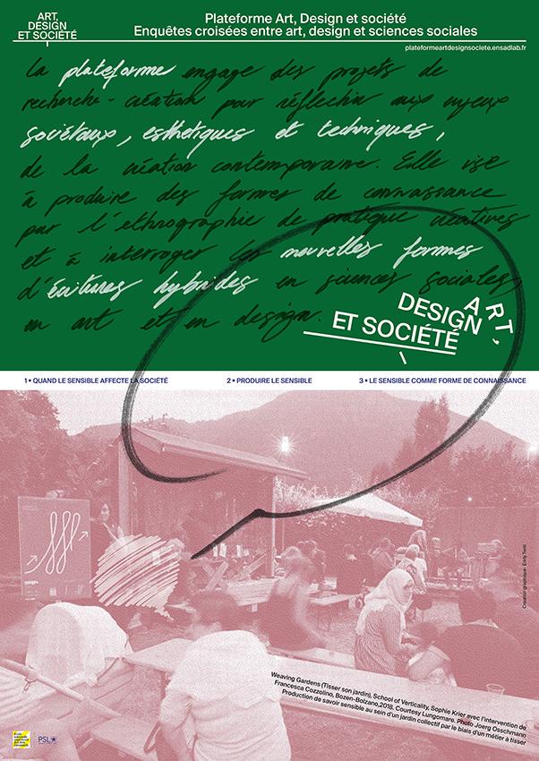 Poster créé pour les Portes Ouvertes 2020 de EnsadLab en collaboration avec Eddy Terki